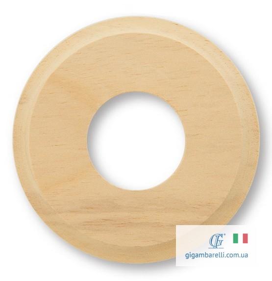 Дерев'яна накладка з фрез. Ø 80 / Ø 100 (натуральна)