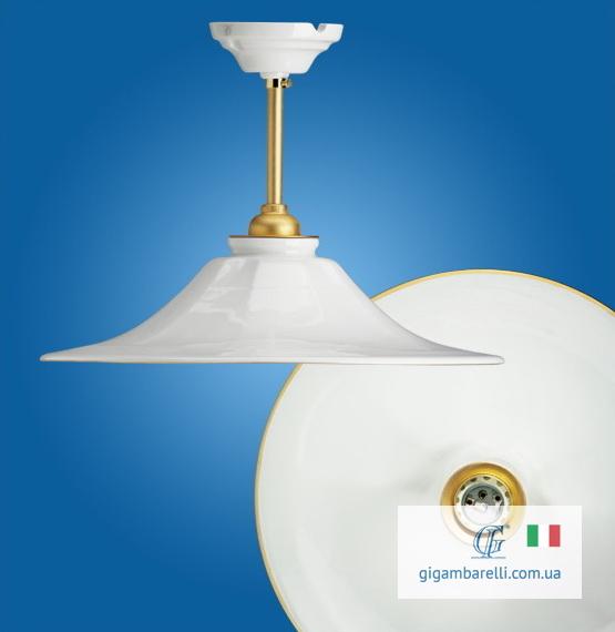 Люстра-підвіс на трубці Godet rigo d'oro (Італія)