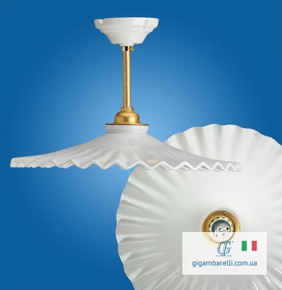 Люстра-підвіс на трубці Ventaglio (Італія)