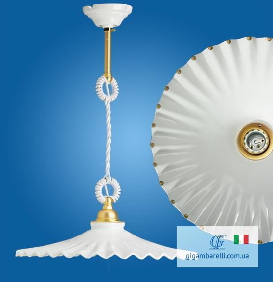 Люстра-підвіс на кабелі Ventaglio gocce d'oro (Італія)