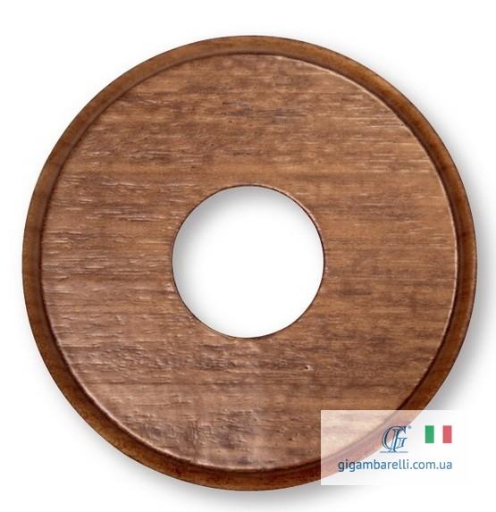 Дерев'яна накладка з фрез. Ø 80 / Ø 100 (колір мідний)