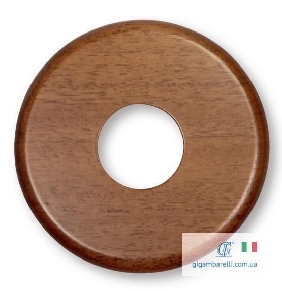 Дерев'яна накладка Ø 80 / Ø 100 (колір мідний)