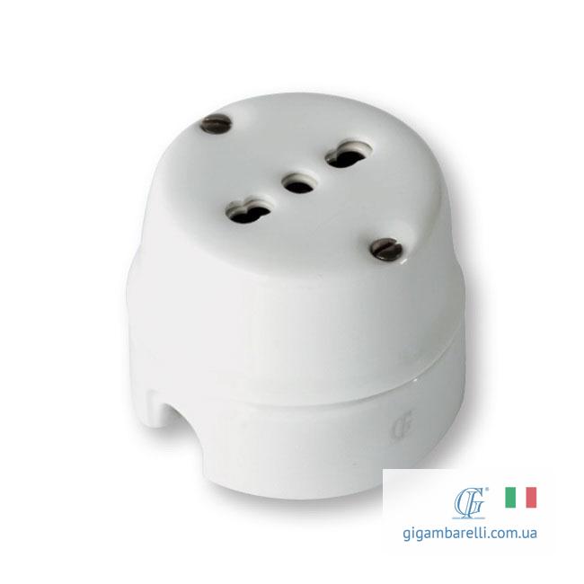 Порцелянова ретро розетка - італійський стандарт