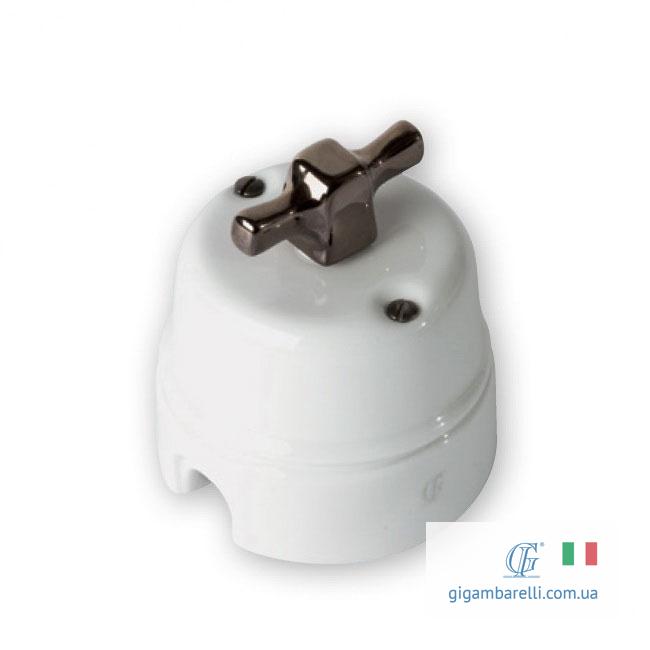 Порцеляновий ретро вимикач INGOT - Copper