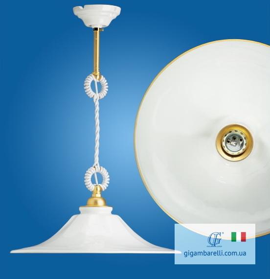 Люстра-підвіс на кабелі Godet rigo d'oro (Італія)