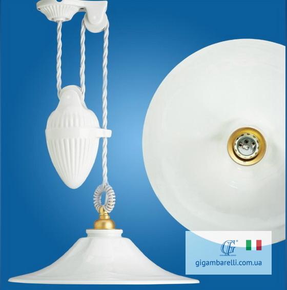Люстра підвіс регульована Godet (Італія)