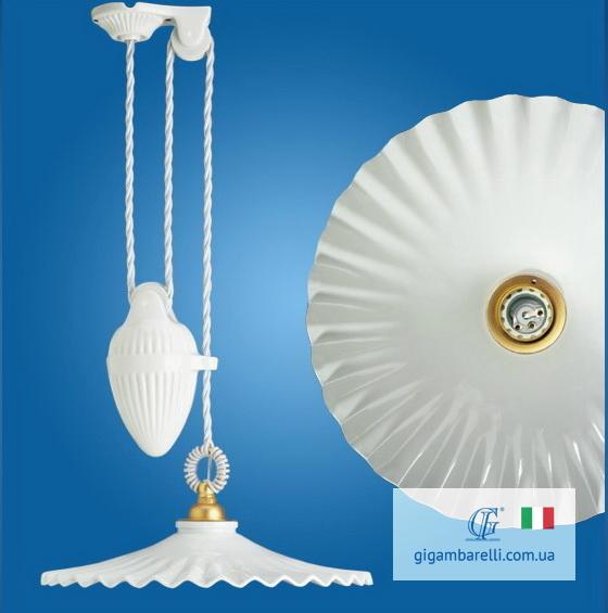 Люстра-підвіс регульована Ventaglio (Італія)